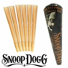 Snoop Dogg 1-1/4 Size Unbleached Pre Rolled Cones 1x6, SNOOP DOGG PRE ROLLED