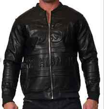 HUDSON WEAR SYNTHETIC LEATHER FIRE BLADE MOTO JACKET BY HUDSON NYC