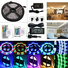5M SMD 3528/5050/5630 300LED Flexible Strip Light+Remote+Power Supply Full Kit