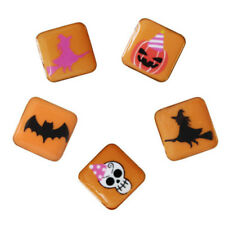 Halloween Small Brooch Pin Pumpkin Skull Witch Badge Jewelry Party Gift Favors