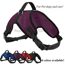 Dog Soft Mesh Vest Pet Dog Harness to dog collar and leash Pet products Dog