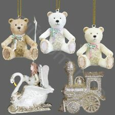 Gisela Graham Hanging Christmas Xmas Tree Ornaments Decorations Teddy Bear Fairy