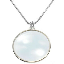 Monocle Lens Necklace With 6x Magnifier Coin Magnifying Glass Pendant Cheapest