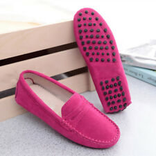 Women's Loafers Ladies' Suede leather Driving Shoes Moccasins Slipper Flats