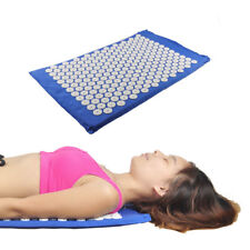 Acupressure Acupuncture Mat Healing Massager Spike Stress Back Pain Tension Foot
