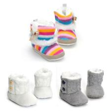 Cute Newborn Baby Girl Boy Anti-slip Warm Shoes Soft Boots Toddler Crib Shoes