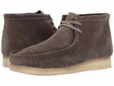 Men's Shoes Clarks Original Wallabee Boot Lace Up 28323 Grey *New*