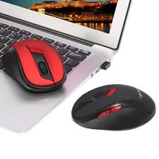 2.4G Wireless Gaming Mouse Optical Game Mice Adjustable DPI for Game Laptop