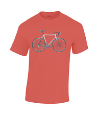 Colnago c40 world champion mapei bicycle cotton T-shirt red