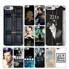 For iPhone 7 7 Plus Case Cover I Am Sherlock Holmes Locked Popular TV Series