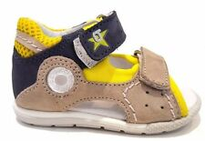 BALDUCCI CITA 55 SANDALS SHOES BABY TEAR VELCRO LEATHER FABRIC PEARL YELLOW