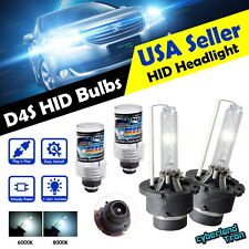 2x 35W D4S HID XENON HEAD LIGHT REPLACEMENT BULBS STOCK HID LOW BEAM 6000K 8000K