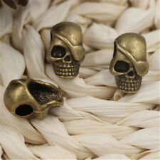 10/50pcs Tibetan Silver exquisite skull Jewelry Charms Pendant 12x19mm A1131