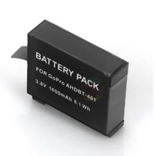 1600mAh Rechargeable Battery AHDBT-401 3.8V Replacement For GoPro Go Pro Hero 4