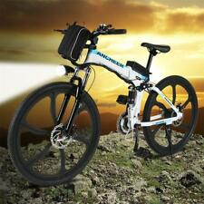 4 Type 36V 250W 3 Colors Foldable  Electric Mountain Bike Bicycle 26'' 27-speed@