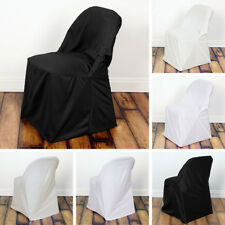 50 pcs STRETCH SCUBA FOLDING CHAIR COVERS Wedding Ceremony Catering Party SALE