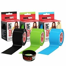 "RockTape Kinesiology Tape - 2"" X 16.4' Rolls: Triple Pack"