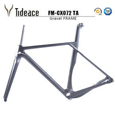 2018 Tideace Full Carbon gravel frame 135mm/142mm Cyclocross Disc Bike Frame