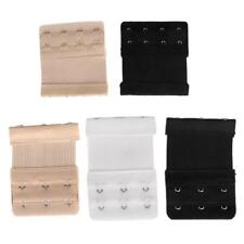 NEW 9/6pcs Bra Extender 3/4Hooks Ladies Extension Strap Underwear Strapless