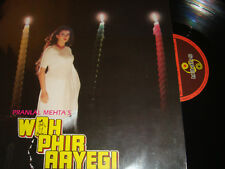 RARE Bollywood LP VINYL Record Soundtrack of Hindi Indian Film WOH PHIR AAYEGI