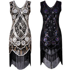 Formal Womens Short Dresses Tassel Sequins Dress Party Evening Wedding Dresses