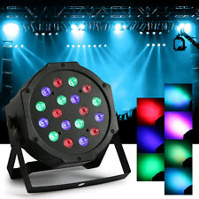 18 / 54 LED RGB PAR CAN DJ Stage DMX Lighting For Disco Party Wedding Uplighting