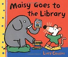 MAISY GOES TO LIBRARY A MAISY FIRST EXPERIENCE BOOK By Lucy Cousins **Mint**
