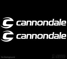 Cannondale Decal Cycling Bike Stickers 305mm Set of 2 Buy 2 Sets Get 1 Free