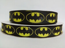 "Homemade 50Yds 22mm 7/8"" Diy Wedding Bow Batman Cartoon Printed Grosgrain Ribbon"