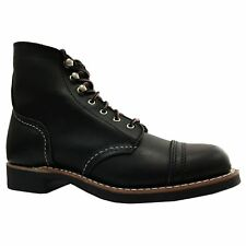 Red Wing Iron Ranger 3366 Black Womens Leather Combat Boots