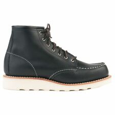 Red Wing 6-Inch Moc 3373 Black Womens Leather Combat Boots
