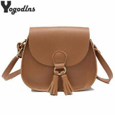 Women Handbags Fashion Saddle Shoulder Bags Girls Crossbody Vintage Tassel Bag