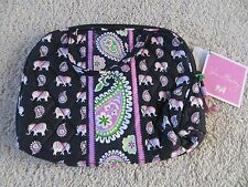 Vera Bradley Purse Cosmetic Handles, Lined Make-up Bag Pink - NWT!!