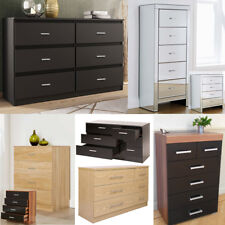 Chest of Drawers Bedroom Furniture Cabinet Storage Bedside Drawer Draw