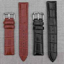 New Unisex Soft PU Leather Bracelet Watch Wristband Belt Strap Band SetW/Buckle