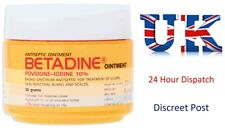 Betadine Antiseptic Ointment - Povidone Iodine Gel for First Aid Cuts (50gl)