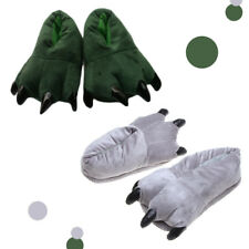Home cotton shoe Indoor floor Slippers Dinosaur Claw Plush shoe Shoes Paw