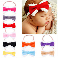 1Pc Bowknot Hair Band Toddler Headwear Headband New Set Kids Girls Baby