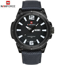 NAVIFORCE Luxury Men's Quartz Date Casual Watch Men Army Military Sports Watches