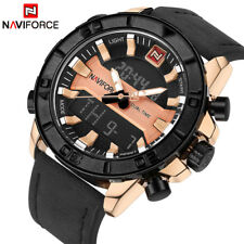 NAVIFORCE Sports Watches Men's Waterproof Quartz Date Army Military Wrist Watch