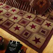 Country Star Wne Braided Rectangle Area Rug By IHF Rugs. Many Sizes.