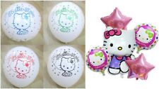 Hello Kitty Supershape / Bundle Foil Kid's Balloons Birthday Party Decorations.