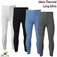 Mens Thermal Long Johns Pants Warm Winter Underwear Heat Trap Baselayer Trousers