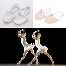 Half PULeather Sole ballet pointe Dance Shoes Rhythmic Gymnastics SlipperP&T