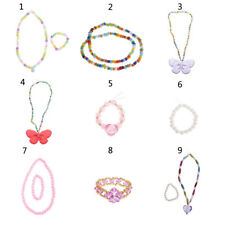 Fashion Jewelry Necklace Bracelet for 18'' American Girl Doll Clothes Accessory