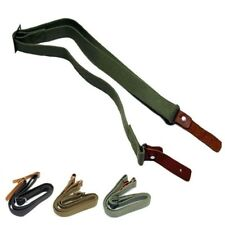 Gun Sling Rifle Shoulder Strap Tactical Shooting Adjustable Carrying Swivels New