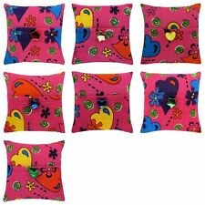 Tooth Fairy Pillow, pink, heart & flower print fabric, choice of trim for girls