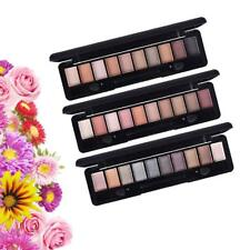 SHIMMER MATTE GLITTER 10 Colors Cosmetic Eyeshadow Palette + Makeup Applicator
