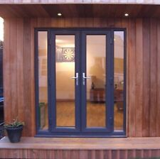 Grey uPVC French Door - NEW MADE TO MEASURE   RAL 7016