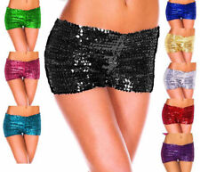 Sexy Womens Sparkle Sequin Shorts Glittery Costume Mini Dancing Night Hot Pants
